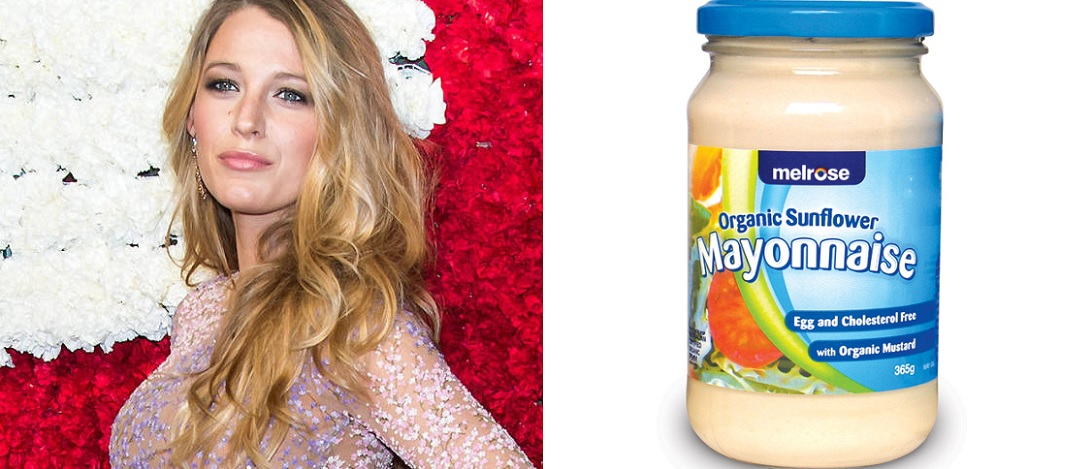 Blake Lively Mayonnaise Hair Hacks