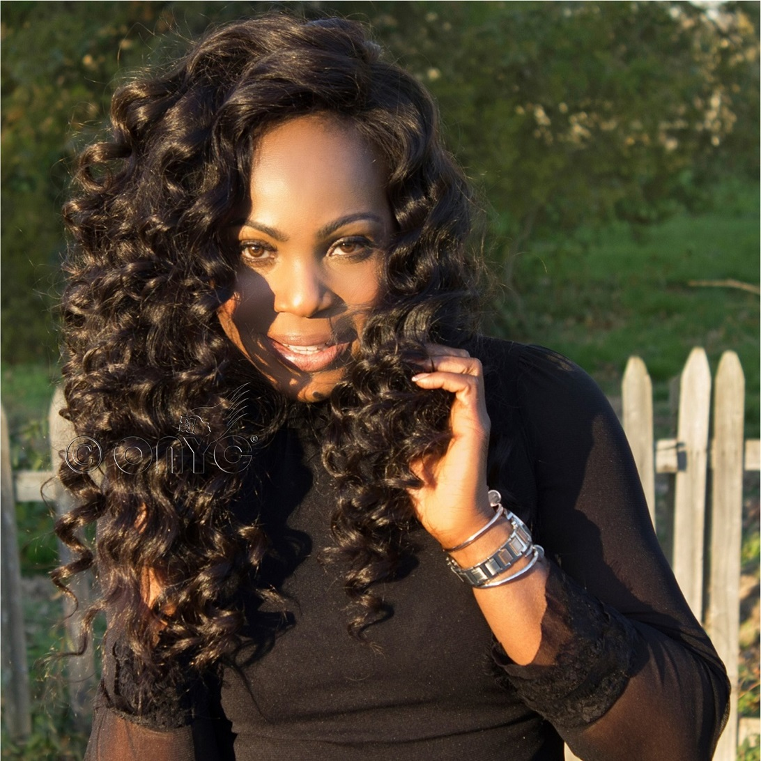 Curling Wand Body Wave Hair ONYC Body 2 Wavy Front
