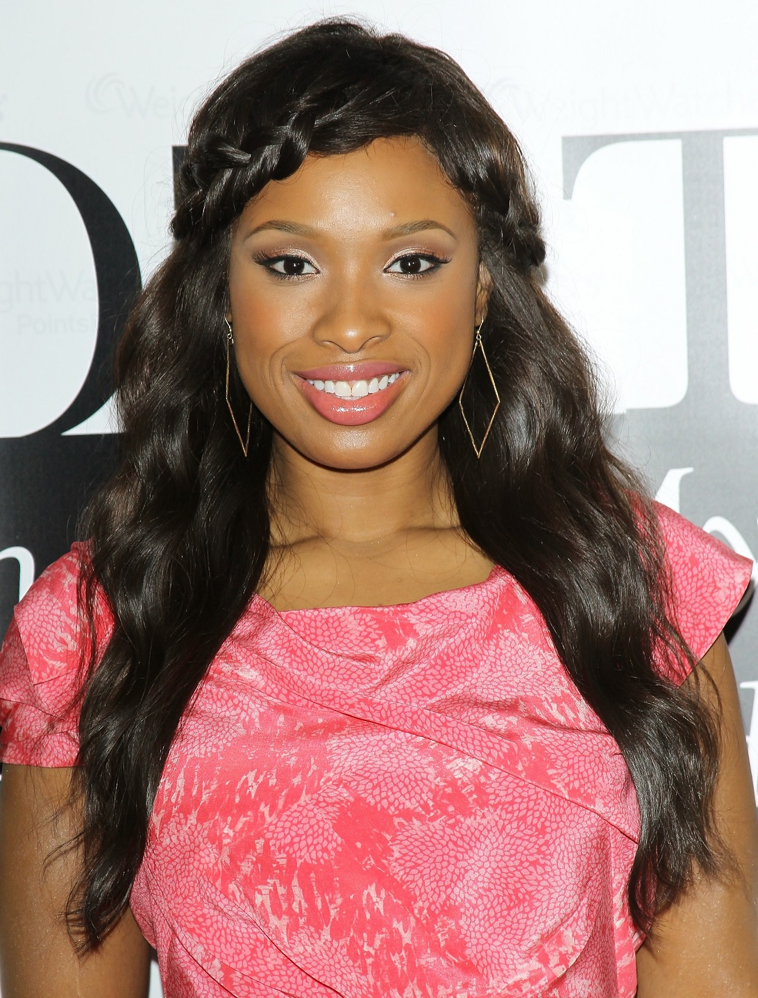 Jennifer Hudson Sexy Braided Hairstyle For Long Hair