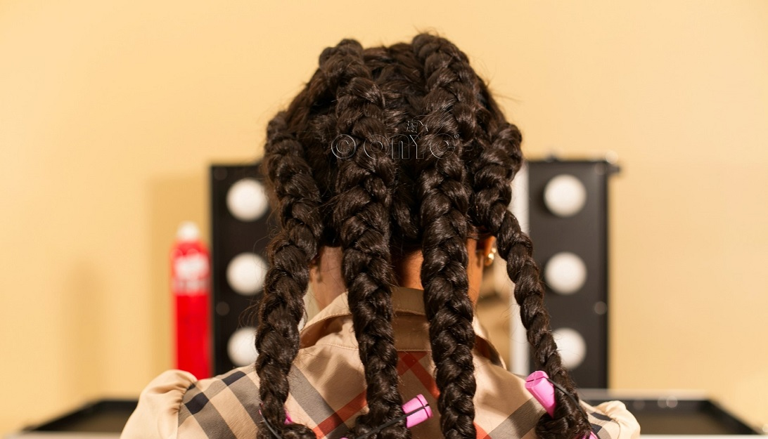 Jumbo Braids For Braid Out Style On Weave ONYC Hair