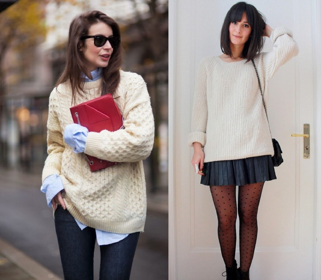 Knit Sweater Winter Staple