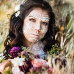 Lace Girl Pretty Halloween MakeUp Look