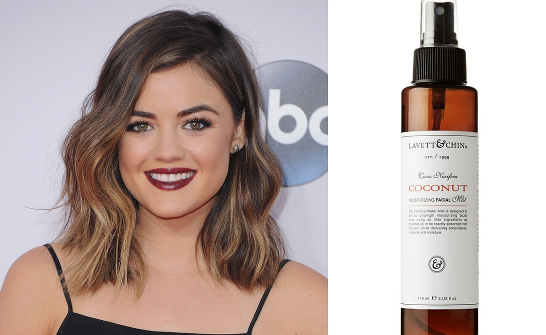 Lucy Hale Hair Hack