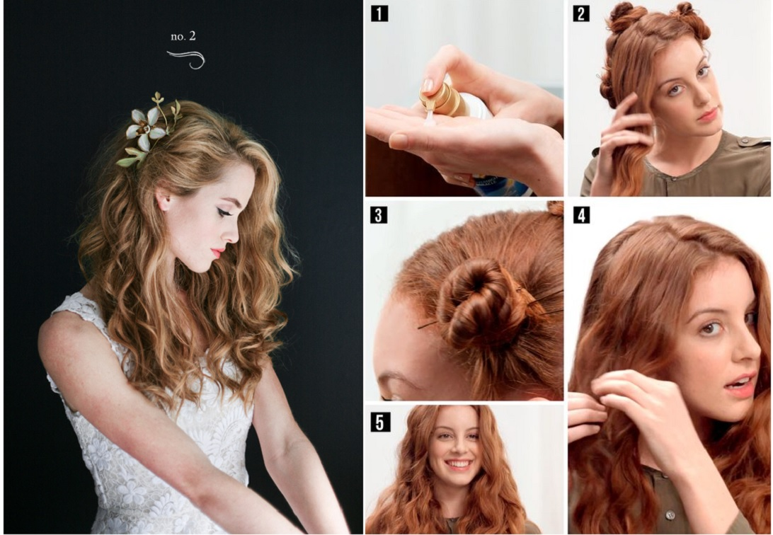 romantic valentines day hairstyles| long, medium and short hair