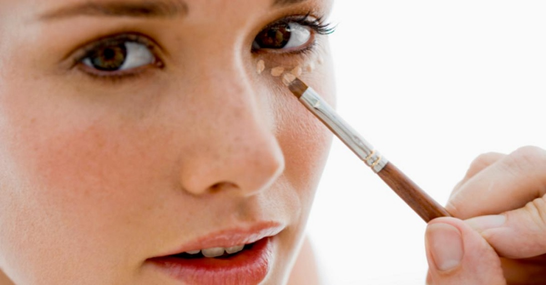 apply concealer to areas Natural Looking Makeup