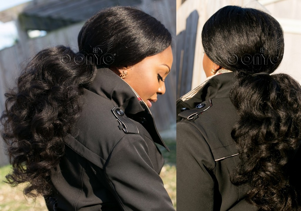 ONYC Fro Out Hair Weave In Ponytail Hair