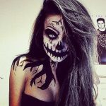 Scary Sexy Skeleton Scary Halloween MakeUp Look