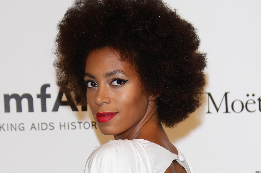 Solange Knowles Hair Hack
