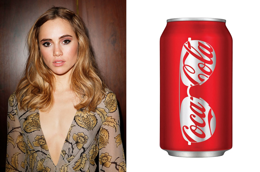 Suki Waterhouse Coca Cola Hair Hack