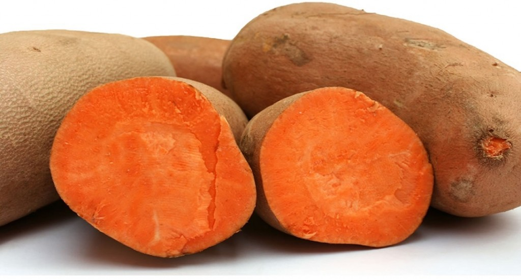 Sweet Potato Top Vegetables Natural In Antioxidants