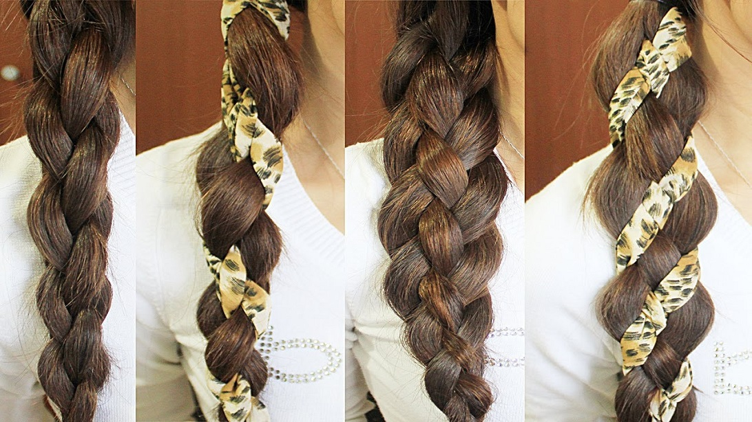 Wooven Braid Hairstyle