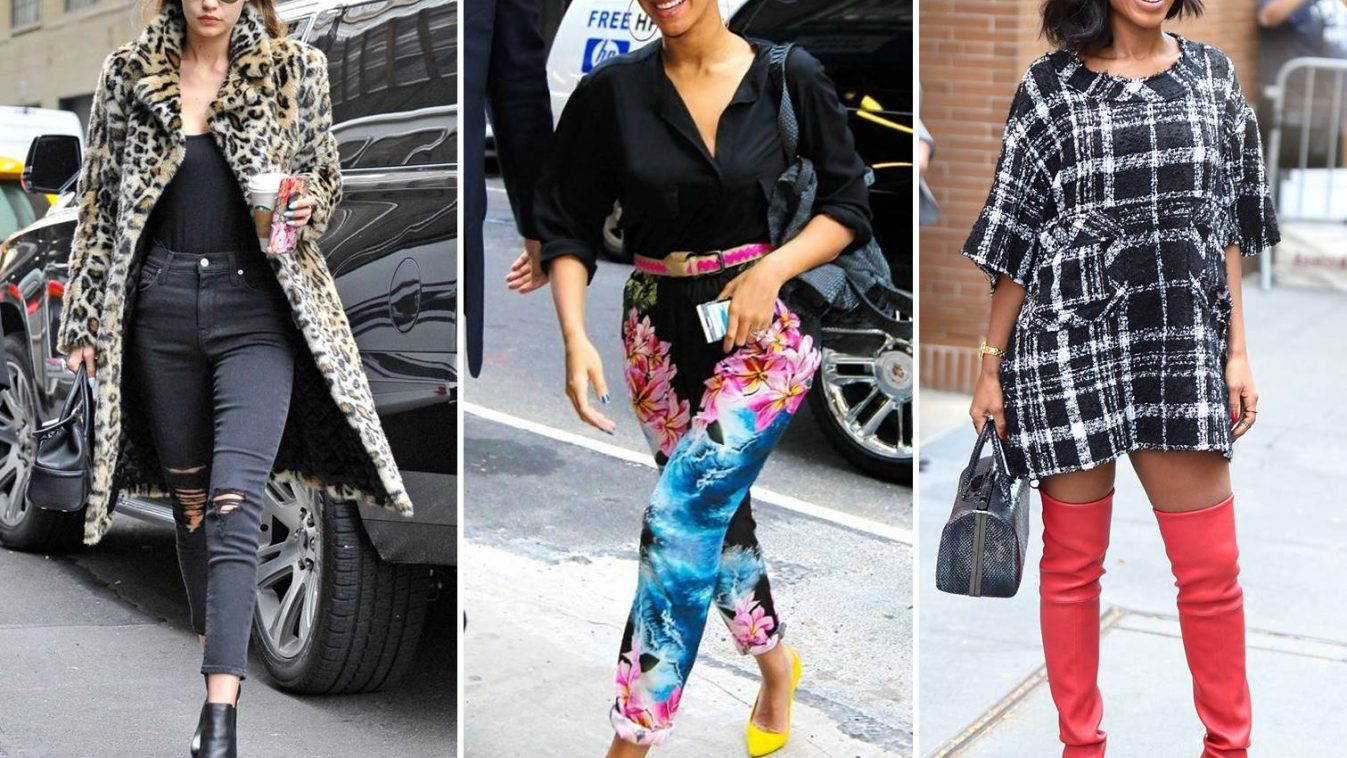 25 Celebrity Street Fashion Gallery Styles We Love Faces Of Ony