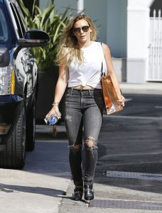 Hilary Duff Casual Style