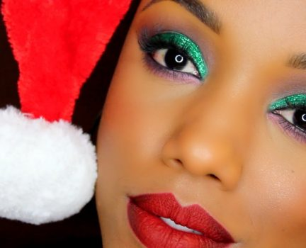 20 Easy Holiday Makeup Looks- Christmas and New Year Ideas