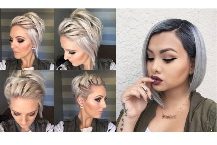 25 Easy Holiday Hairstyles For Short Hair- Cute Hair