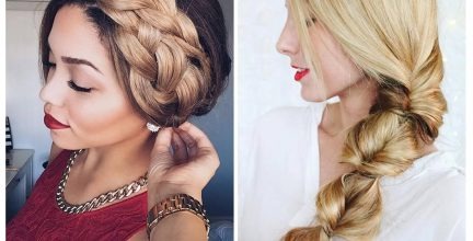 30 Gorgeous Holiday Hairstyles For Long Hair- Cute and Easy