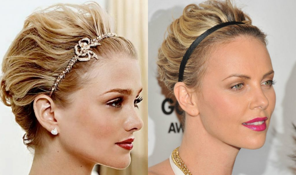 Easy Holiday Hairstyles For Short Hair   25 Cute Hair Styles