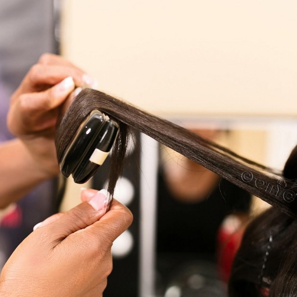 Curl Using Flat Iron