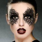 Black Laced Eye Easy Halloween MakeUp Look