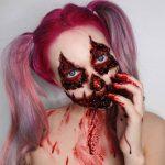 Bloody Eyes Scary Halloween MakeUp Look