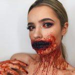 Bloody Halloween Creepy Look