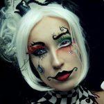 Chekerd Pretty Halloween MakeUp Look