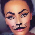 Cutie Cat Halloween Easy Halloween MakeUp Look