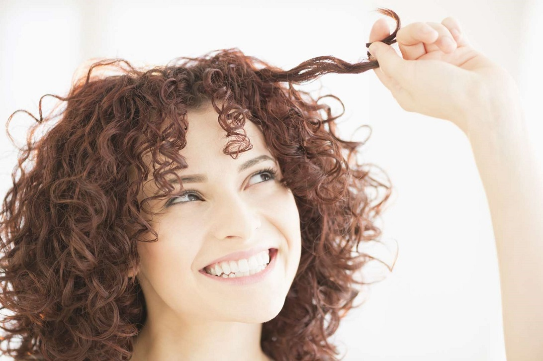 Drying Process For Curly Hair Do Not Touch Until Completely Dry