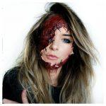 Face Tear Off Halloween MakeUp Looks