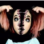 Face Tearing Off Creepy Halloween MakeUp Looks