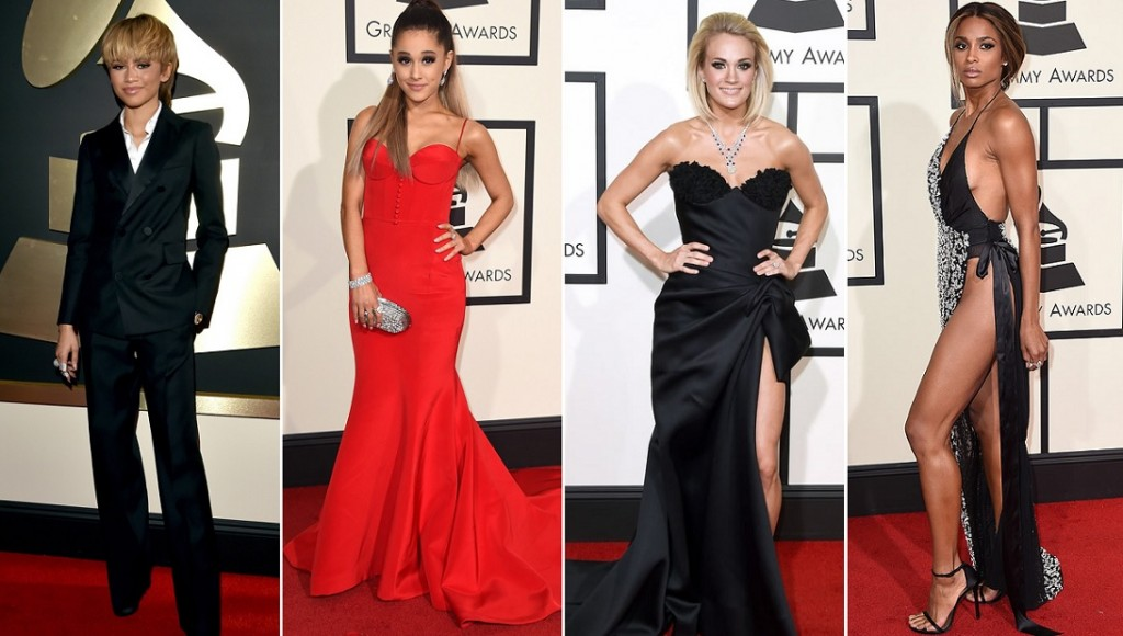 Grammy Award 2016| It's All About the Dresses