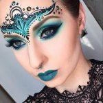 Head Art Lace Halloween