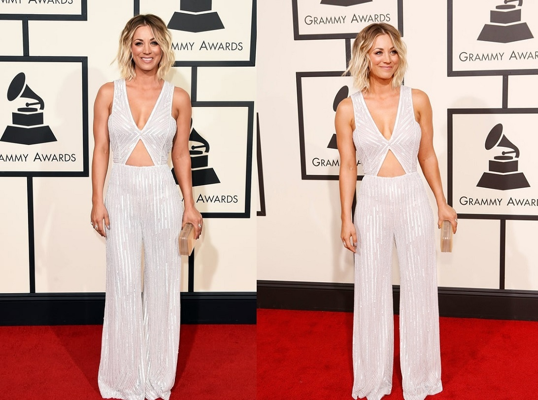 Kaley Cuocu Best Dressed Celebrities At Grammy 2016