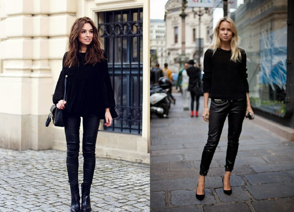 Leather Trousers Winter Essentials