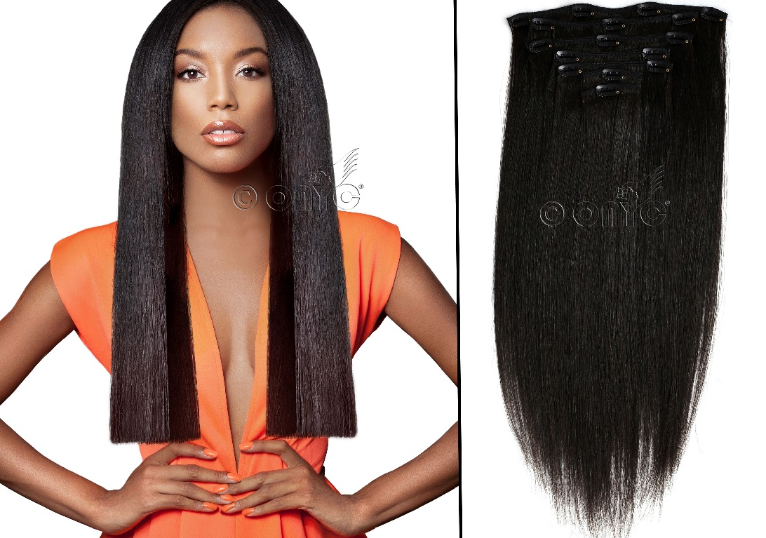 clip in hair extension styles my fab look with relaxed hair extensions onyc 9206