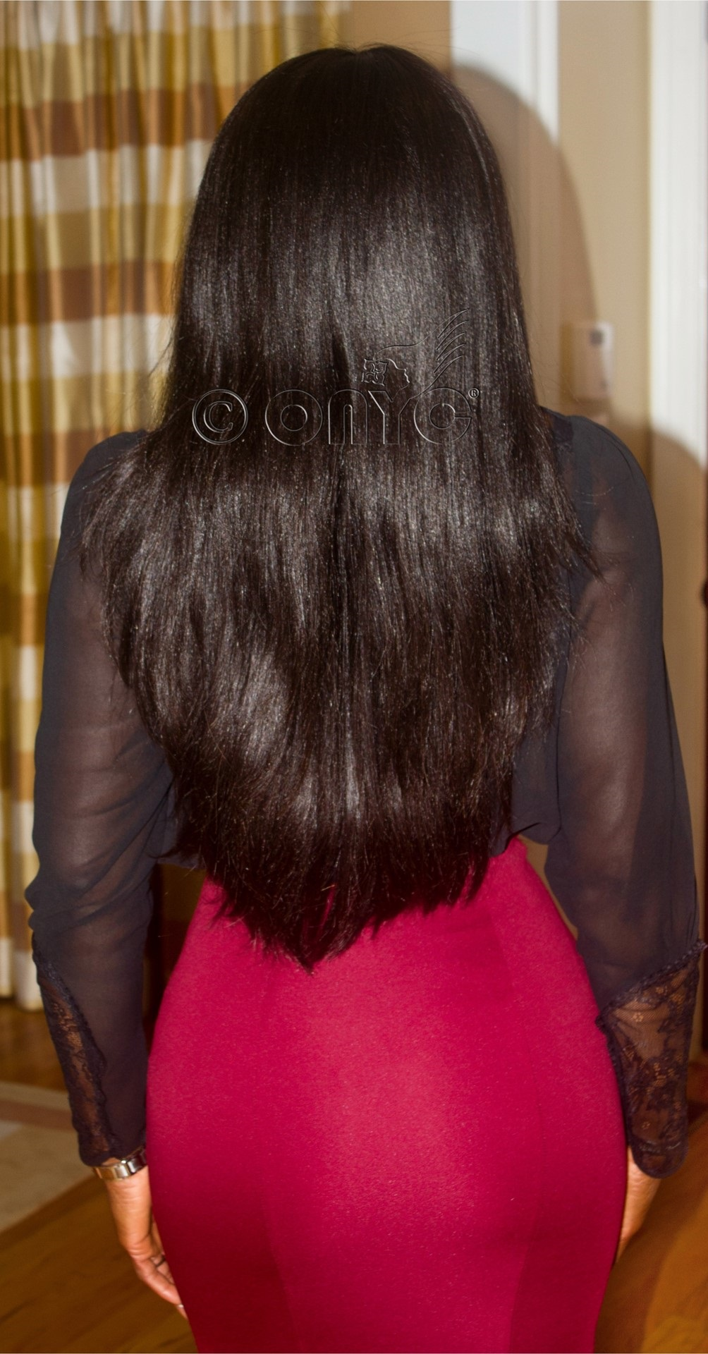 Long And Natural Black Hair Extensions ONYC Hair