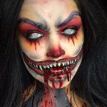 Most Creepy Halloween Look MakeUp Look