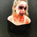 No Eye Halloween Creepy Look