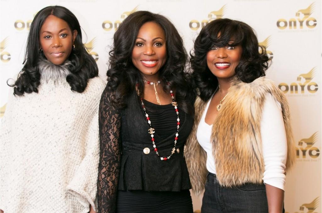 ONYC Hair CEO Thelma Okoro With ONYC Happy Customers