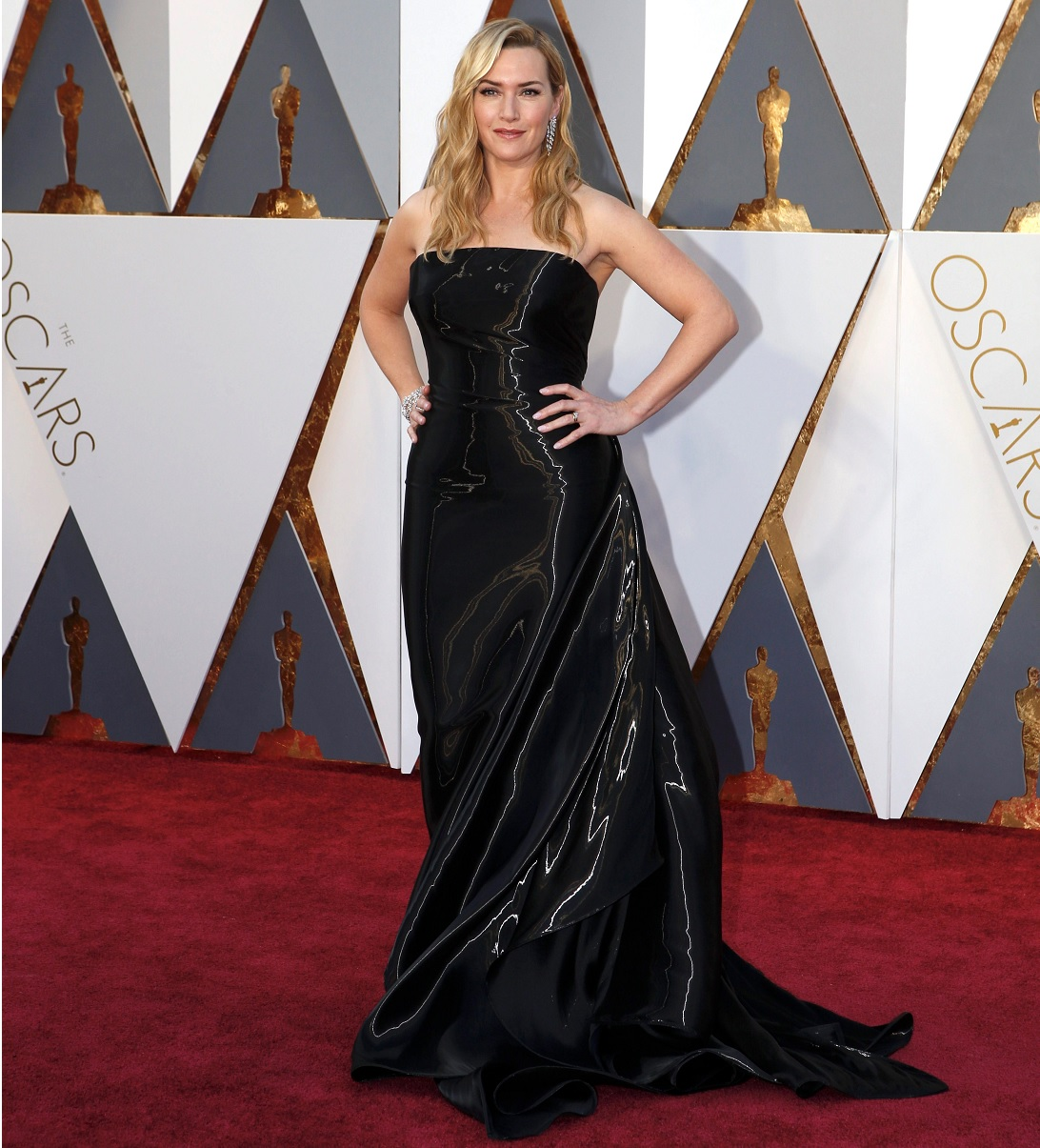 Oscars 2016 Best Dressed Kate Winslet Red Carpet