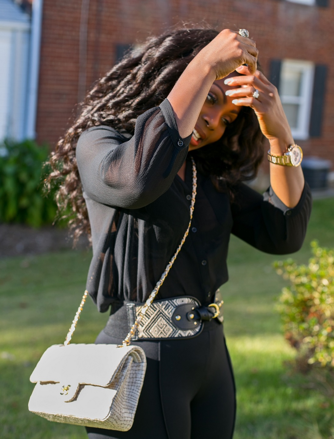 A Warmer Day Outfit - Faces of Ony