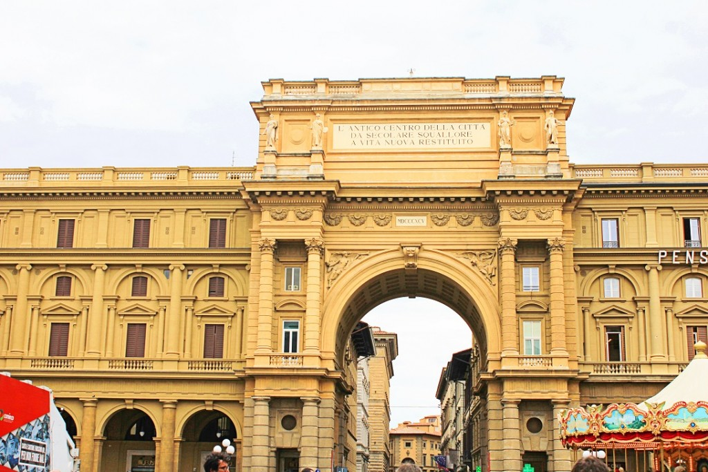 Piazza Della Repubblica Florence