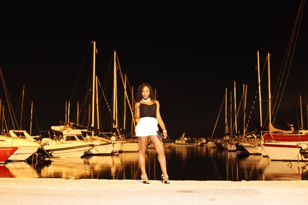 Porto Cagliari Molo Ichnusa View