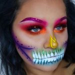 Rainbow Halloween Look Easy Halloween MakeUp Look