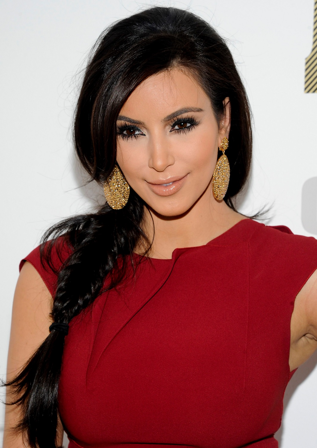 Romantic Valentines Day Makeup Kim Kardashian
