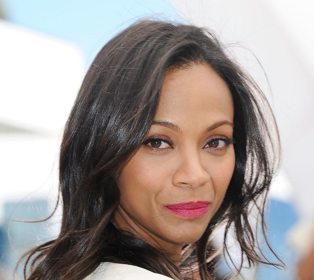 Romantic Valentines Day Makeup Zoe Saldana