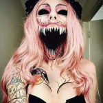 Scary Halloween MakeUp Look