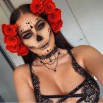 Skeleton Halloween Pretty Halloween MakeUp Look