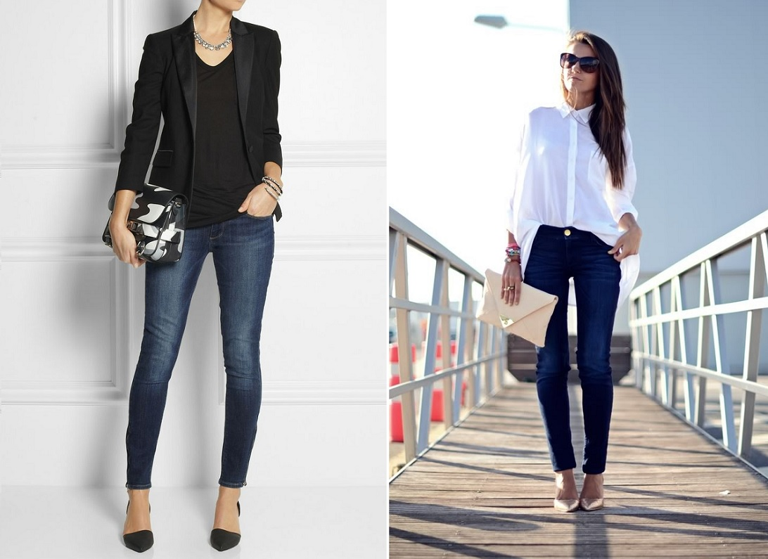 Skinny Jeans Valentines Day Outfit Ideas