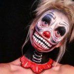 Spring Neck Halloween Scary Halloween MakeUp Look
